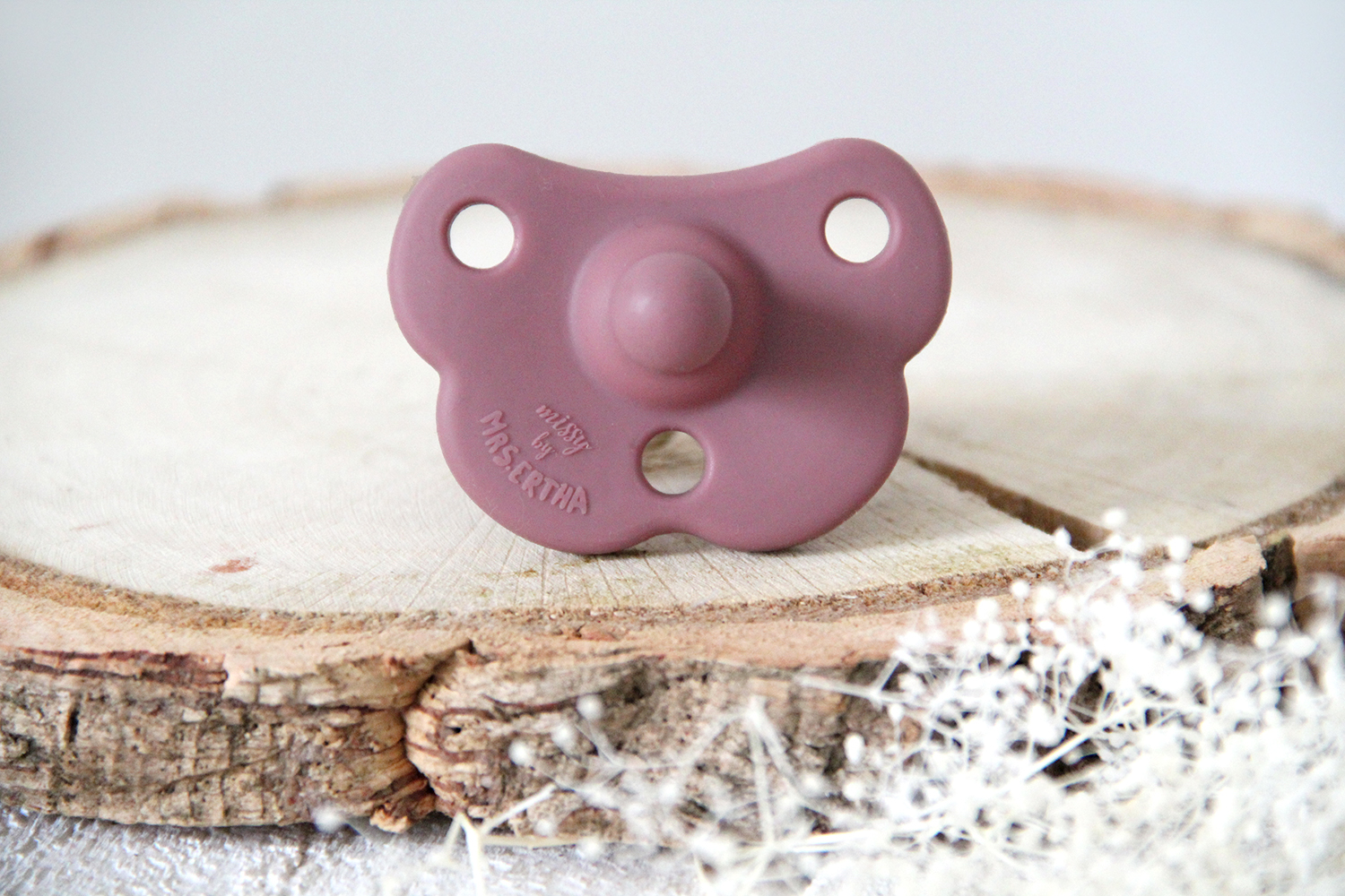 Missy Pacifier - Rose Gold