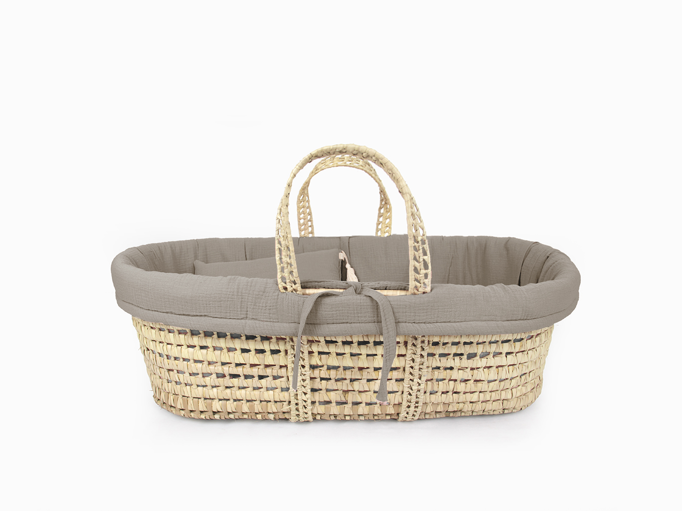 Moses basket linen set - Taupe
