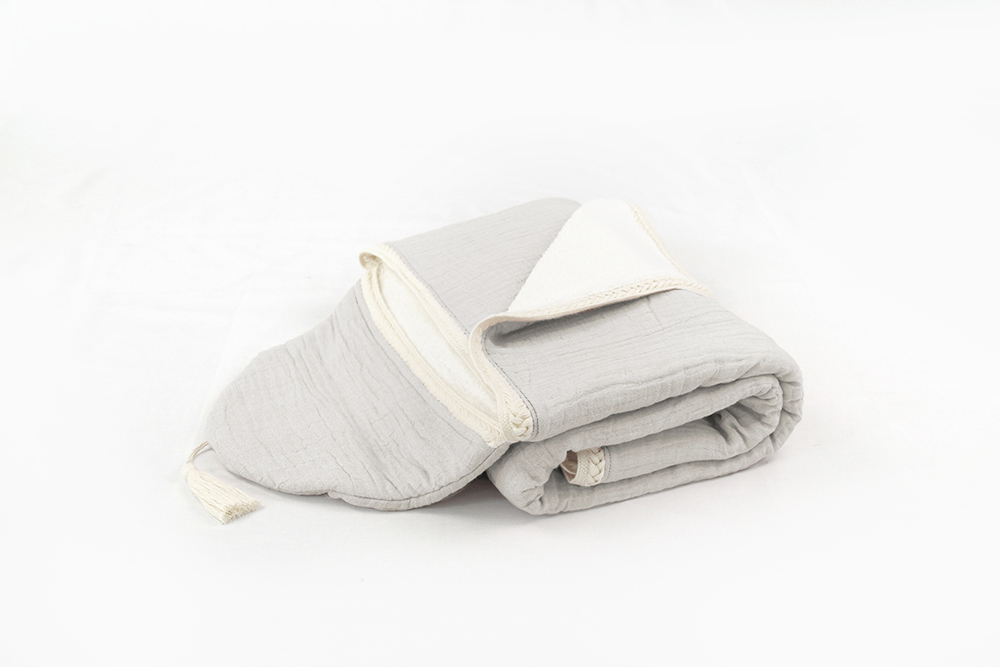 Lola Towel - Melange Grey