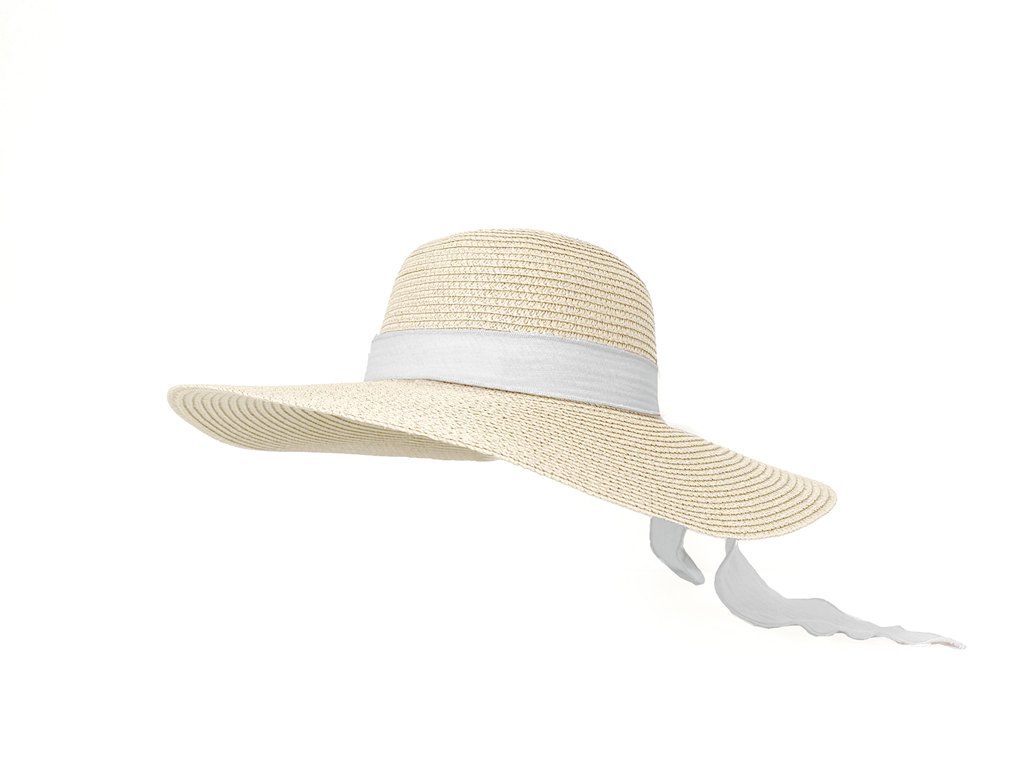 Adult Brook Hat - Straw - Vanilla + Pearl
