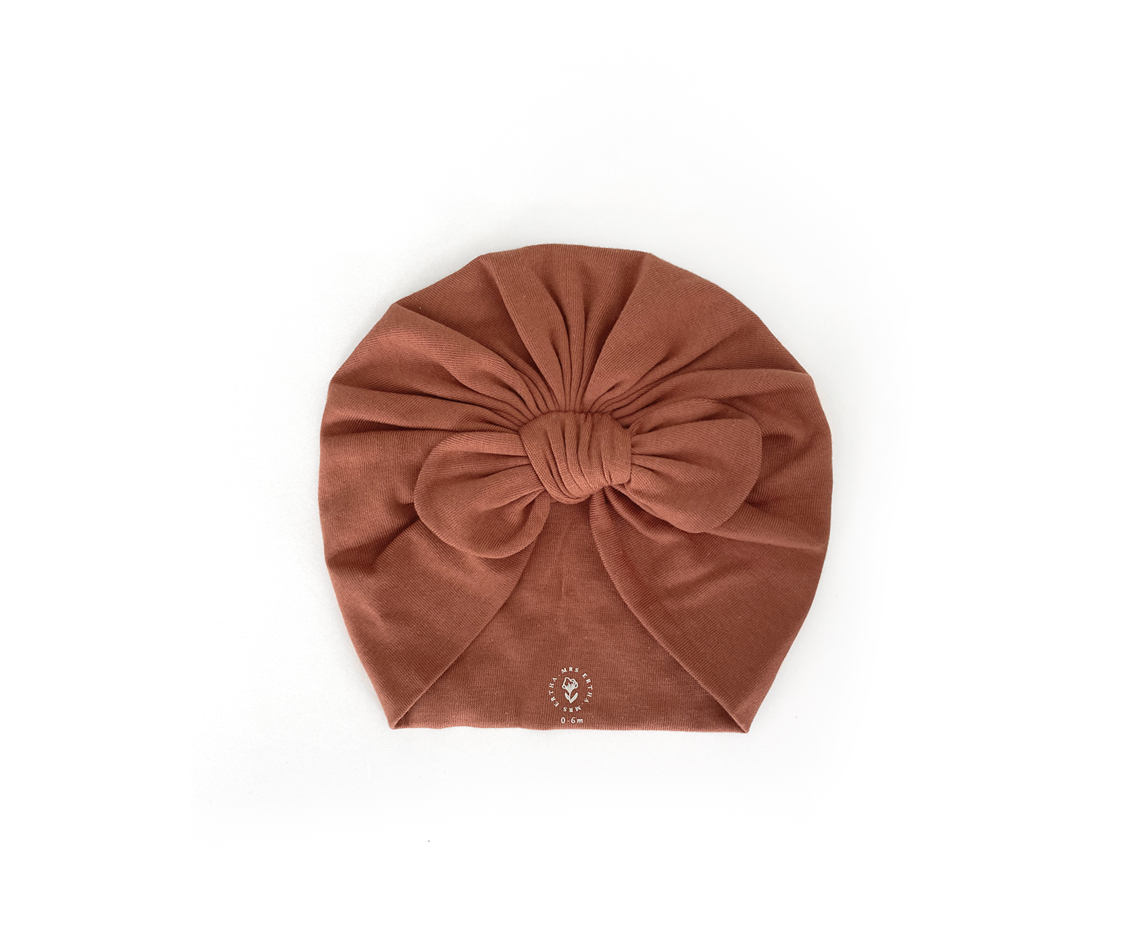 Hibbie turban - Terracota