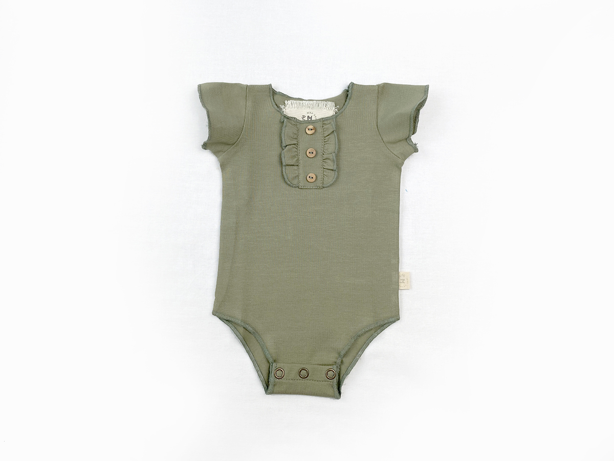Bodie Fit Body - Olive