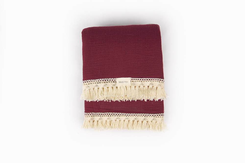 Shiloh Blanket - Berry