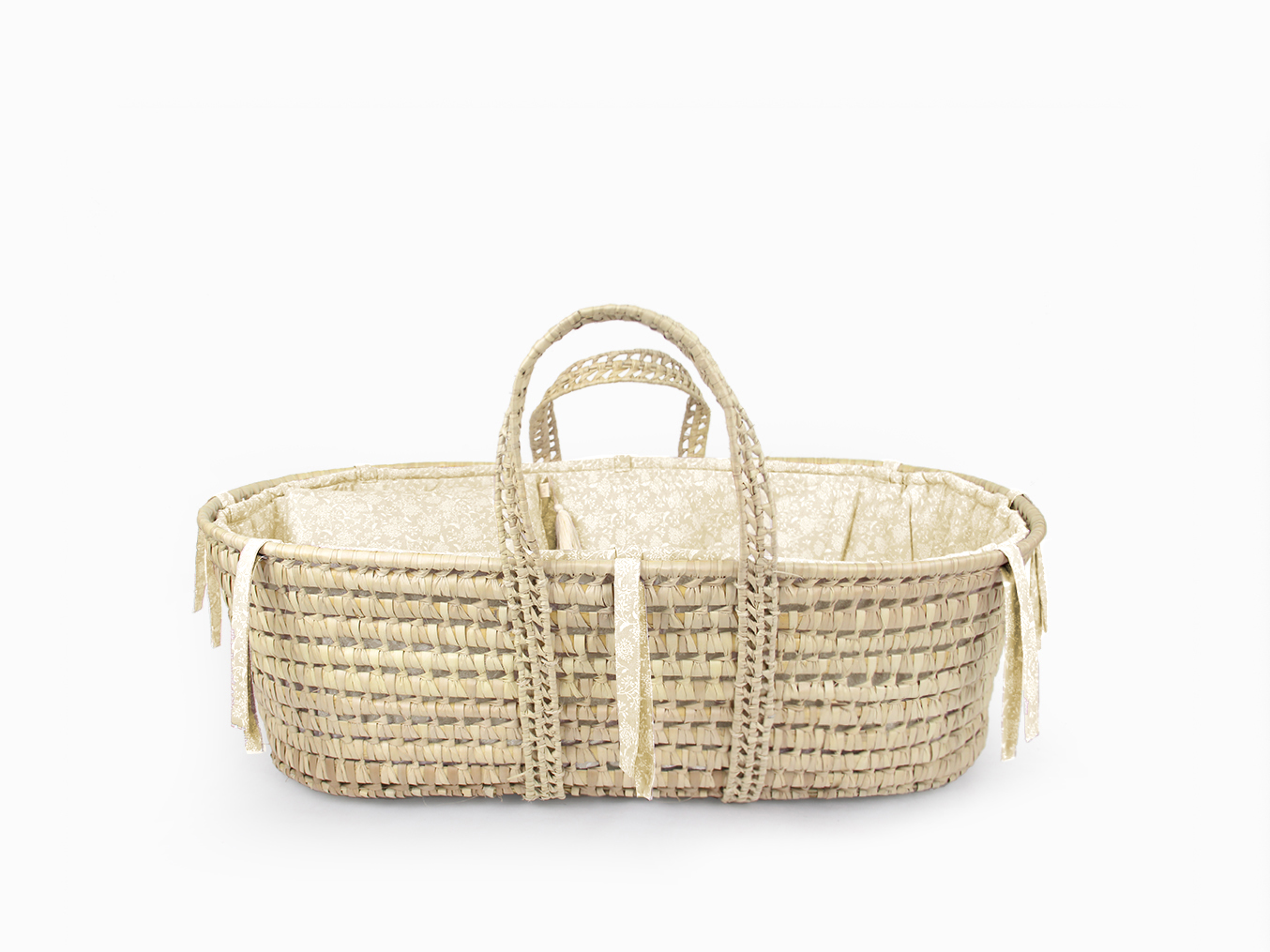 Moses basket linen set - Mellow nature
