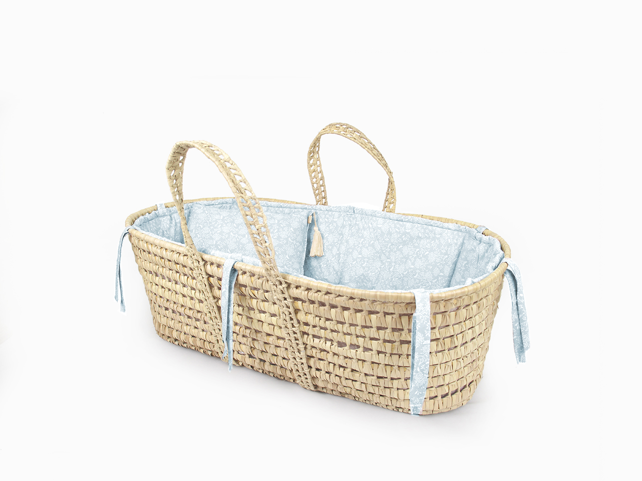 Moses basket linen set - Pearl nature