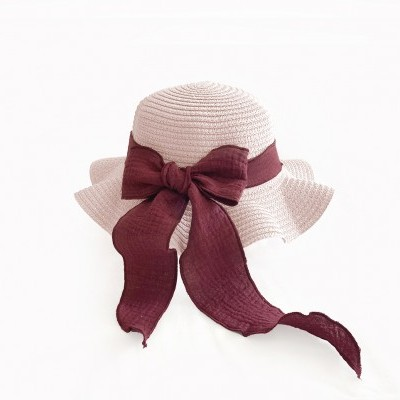 Brook Hat - Rose Straw