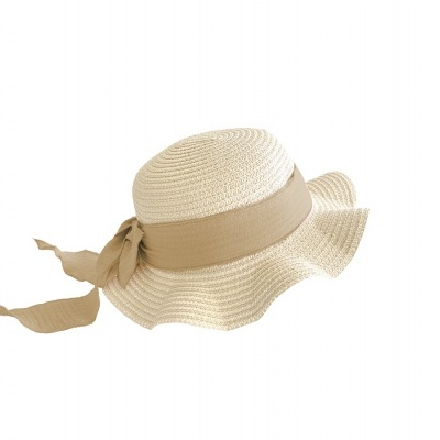 Kids Brook Hat - Straw - Blush + Peanut