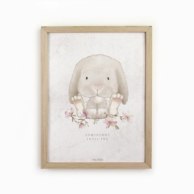 Miss Corina - 'Somebunny loves you' print