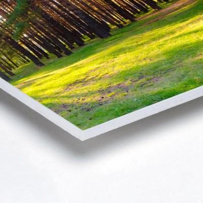 Foto sobre PVC 5mm - Quadrado