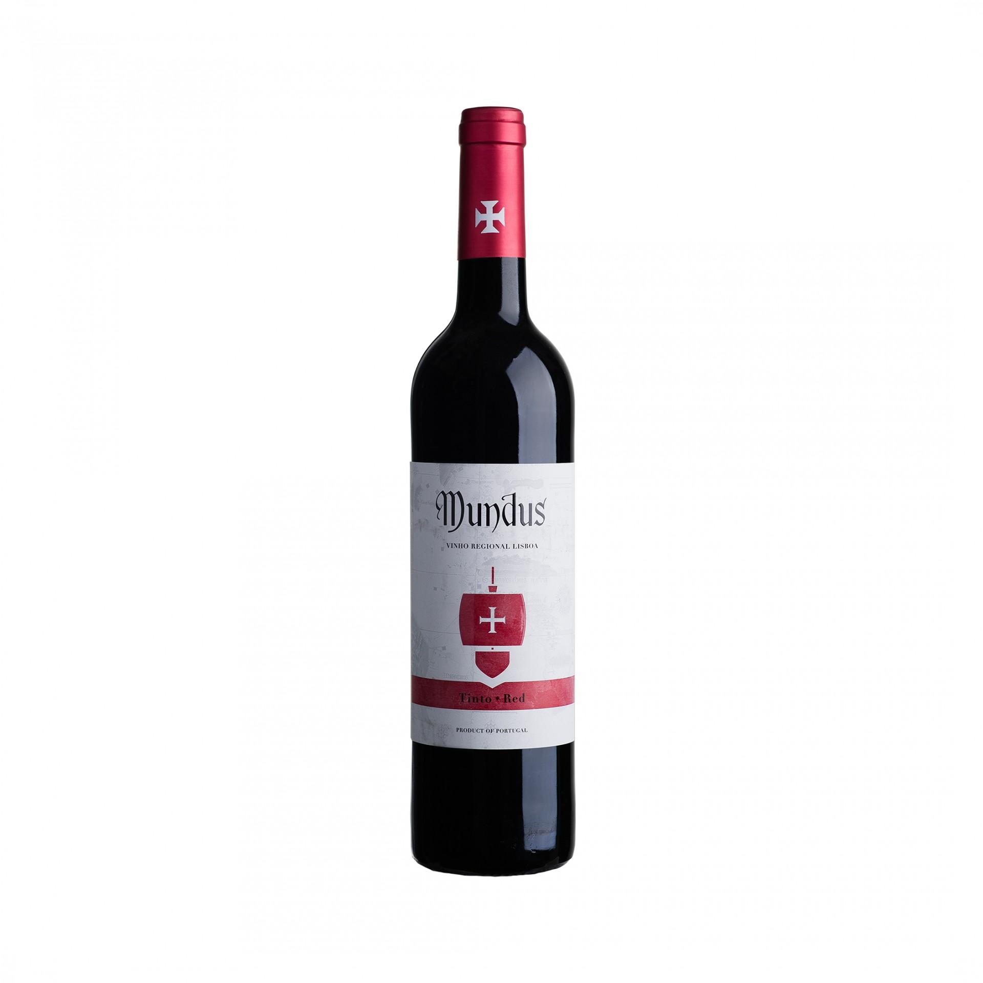Mundus Tinto IGP Lisboa 0,75L 13,0%