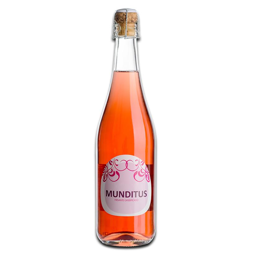 Munditus Rosado Vinho Frisante 0,75L 9,5%