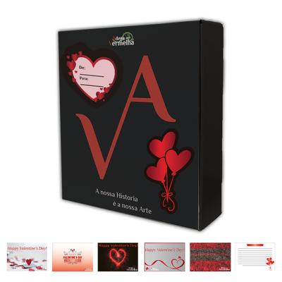 Caixa Cabaz especial Dia dos Namorados