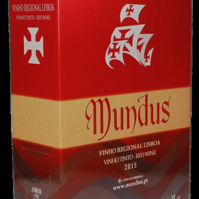 Mundus Tinto IGP Lisboa 3L 13,0%