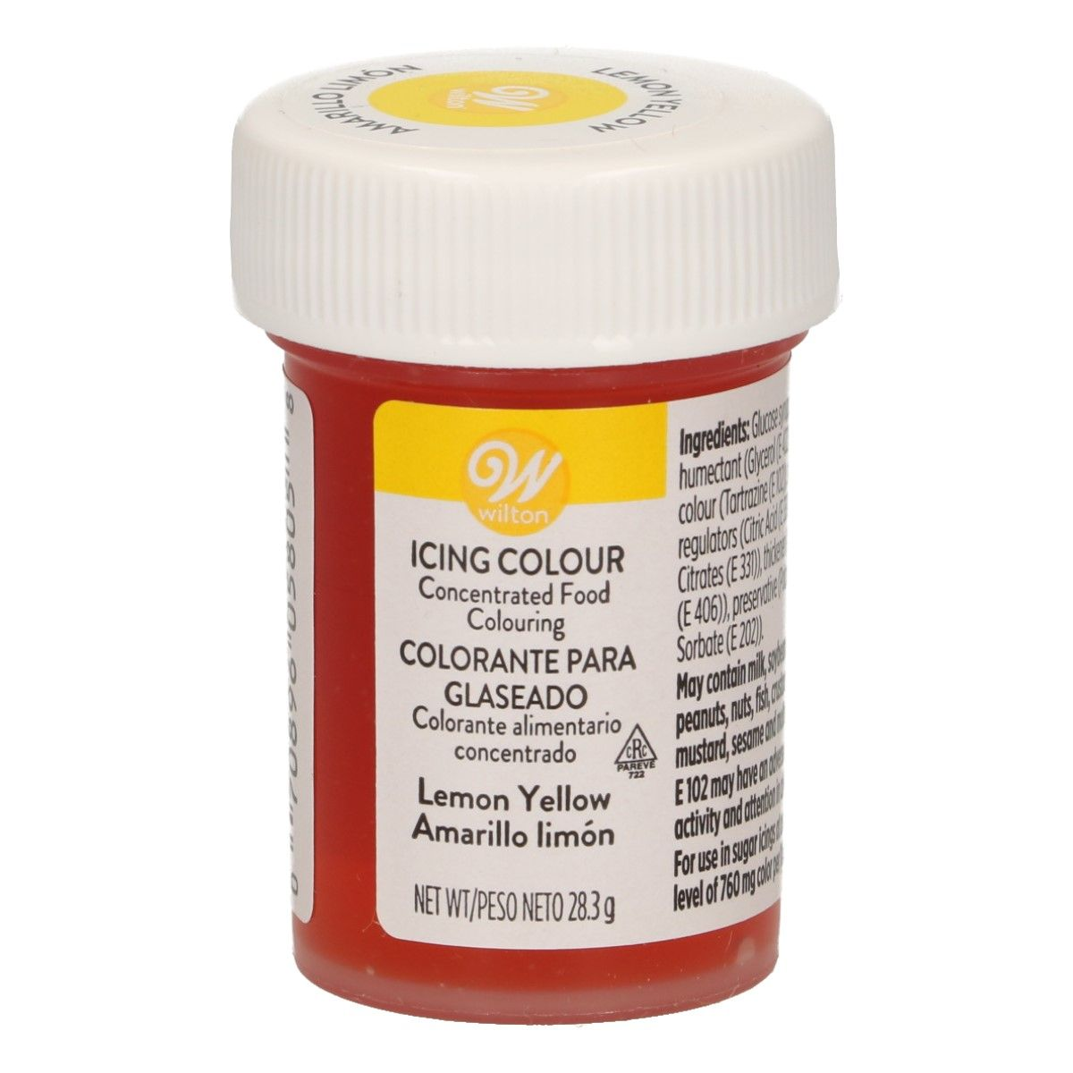 Corante Gel 28gr - Lemon Yellow