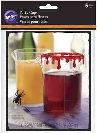 Taças Plastico Halloween, pk/6
