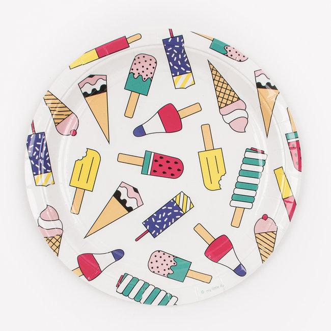 Pratos Ice Cream,pk/8