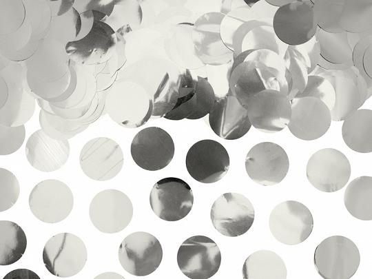 Confetti Circulos 15gr - Prateado