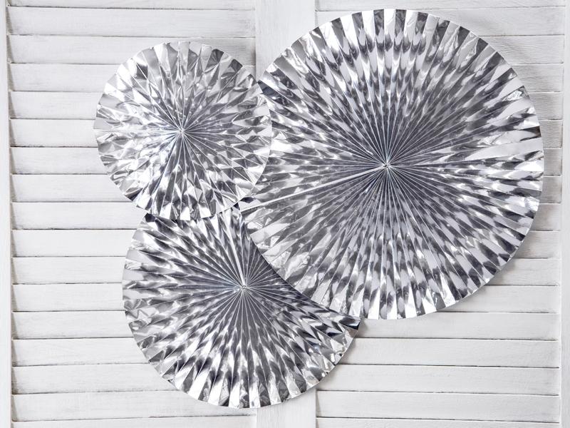 Rosetas Decorativas - Silver