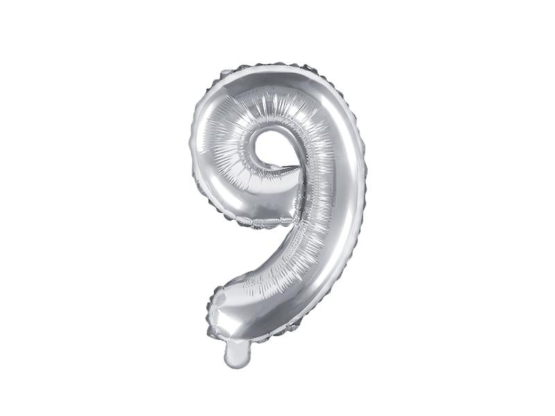 Balão 35cm 9 - Prateado
