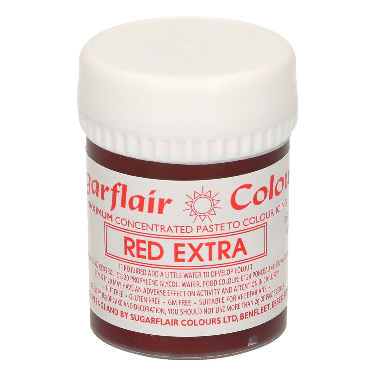 Corante Gel Red Extra 42gr