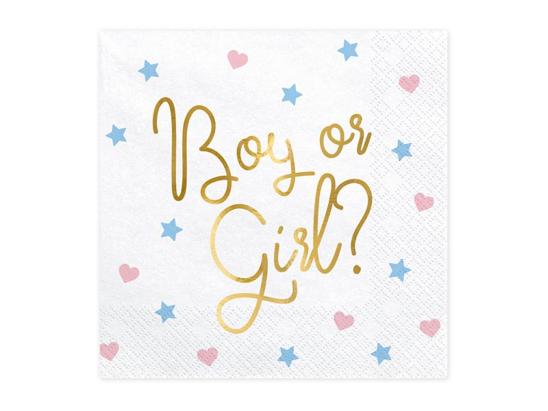 Guardanapos - Boy or Girl , pk/20