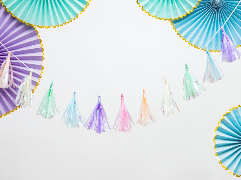 Tassel Garland Mix,1.2m