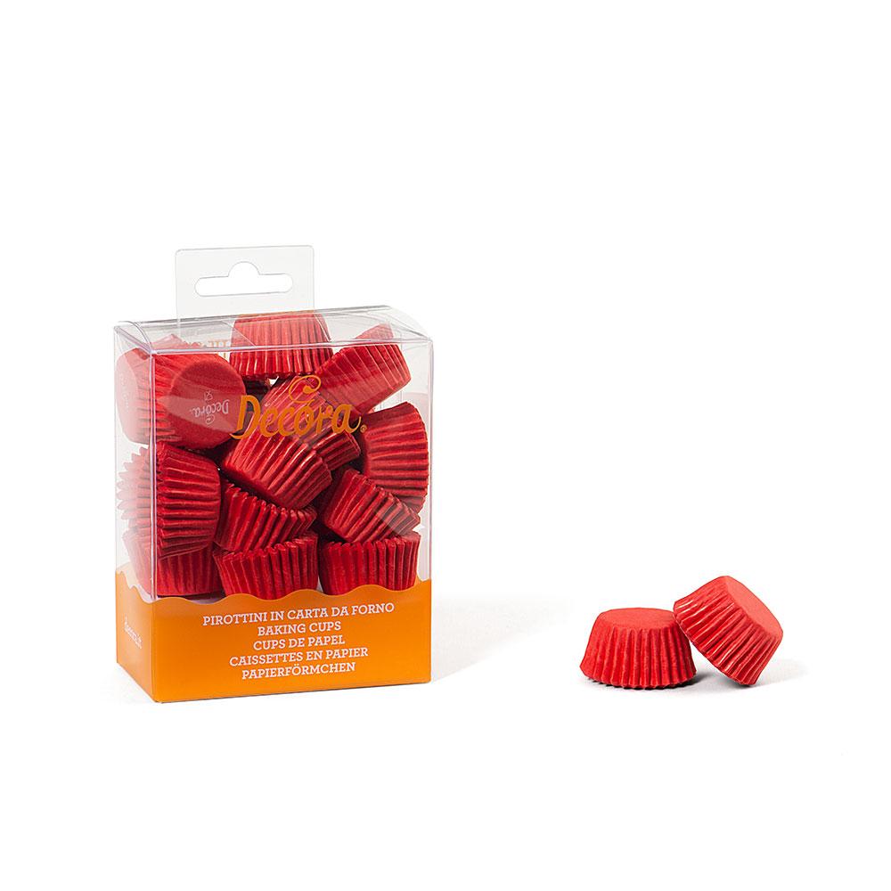 Formas Mini CupCake Vermelho.pk/200