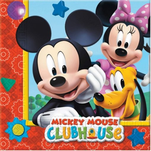 Guardanapos Mickey Playful pk/20