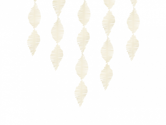 Franjas Crepe Light Cream,3m