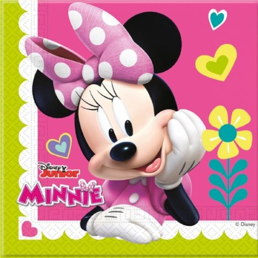 Guardanapos Minnie Helpers,pk/20