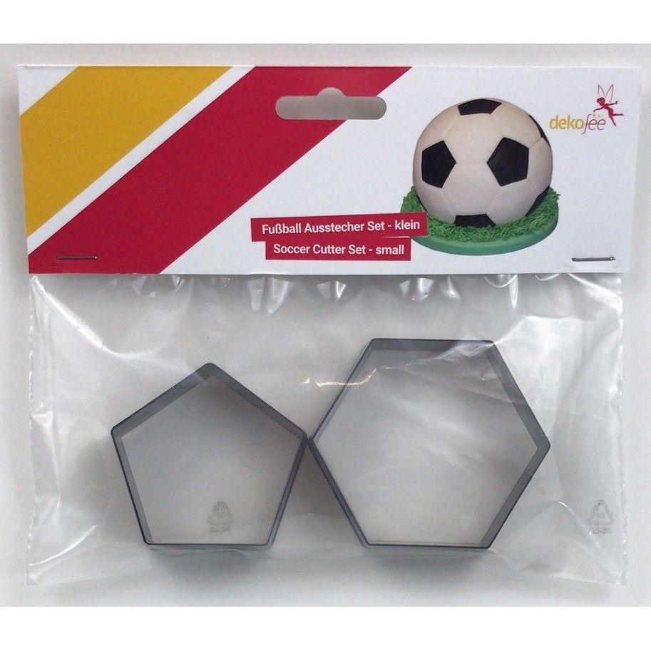 Cortador Kit Peq Bola Futebol ,pk/2