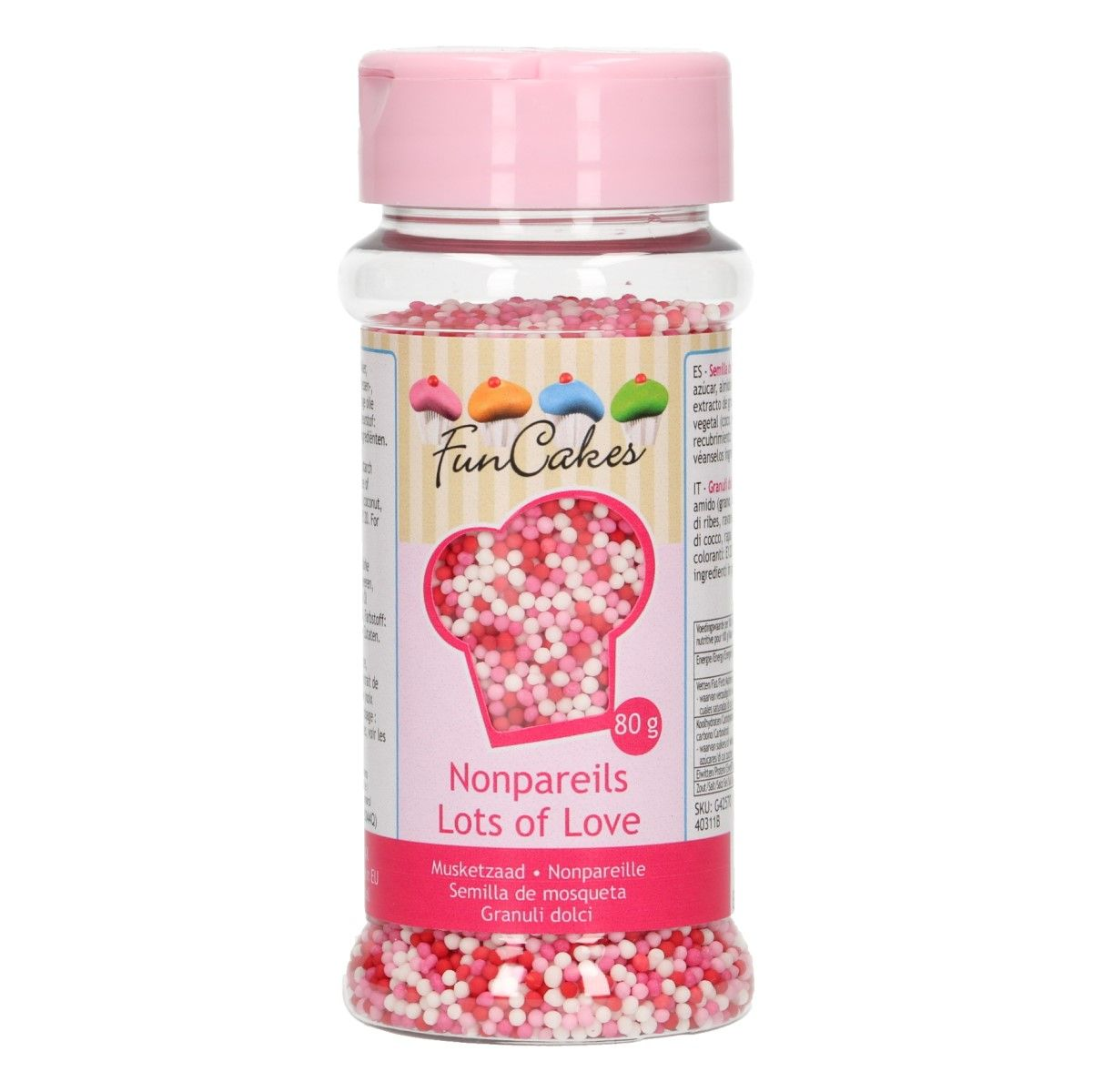 Nonpareils - Lot´s of Love 80gr