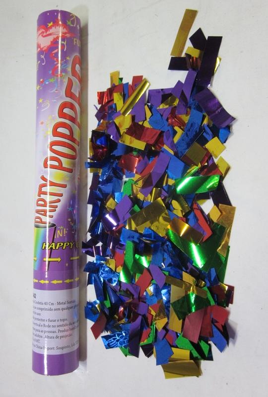 Lança confetis 40cm