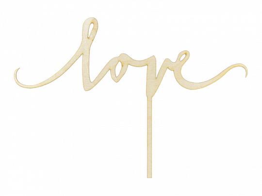 Cake Topper Madeira - Love