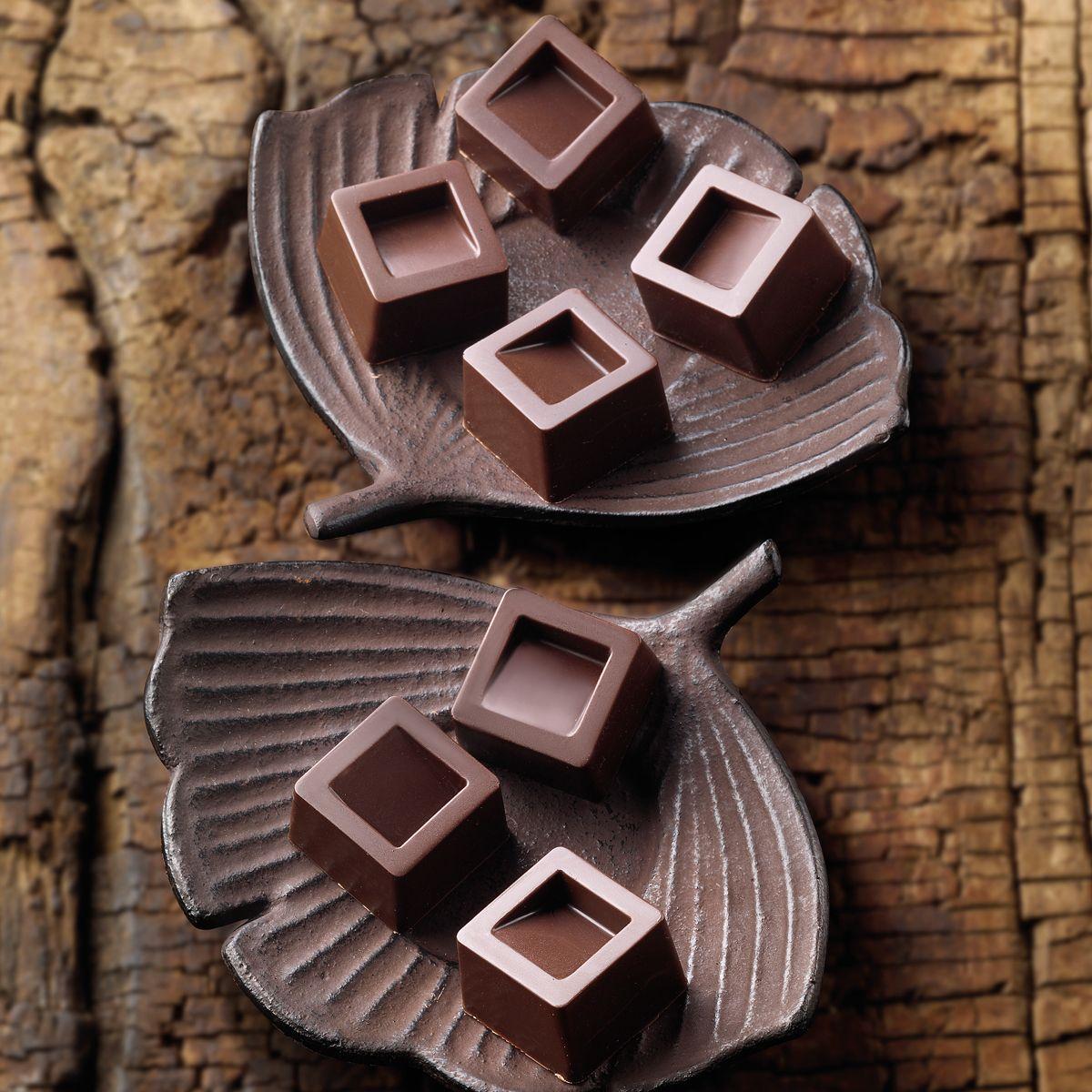Molde Silicone Chocolate Cubo