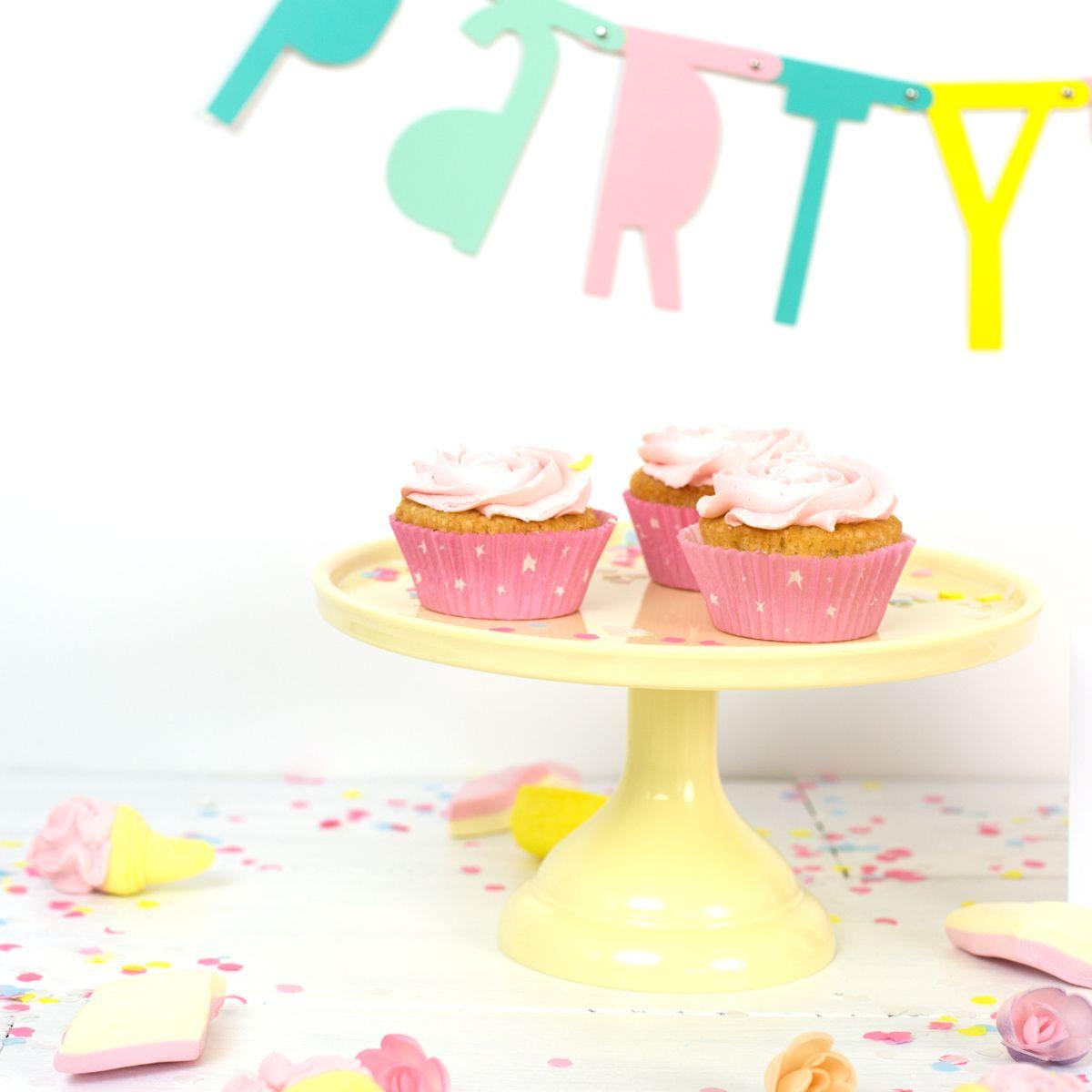 Cake Stand Peq - Amarelo