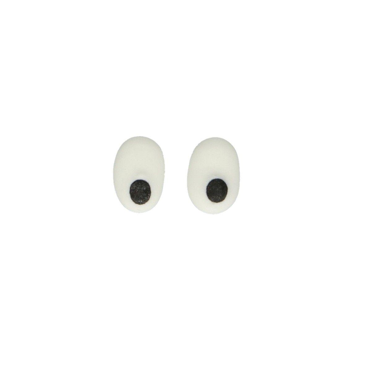 Decorações Açucar Olhos Ovais,pk/32