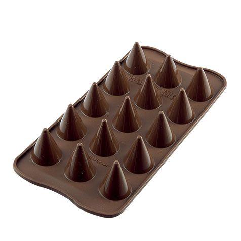 Molde Silicone Cone