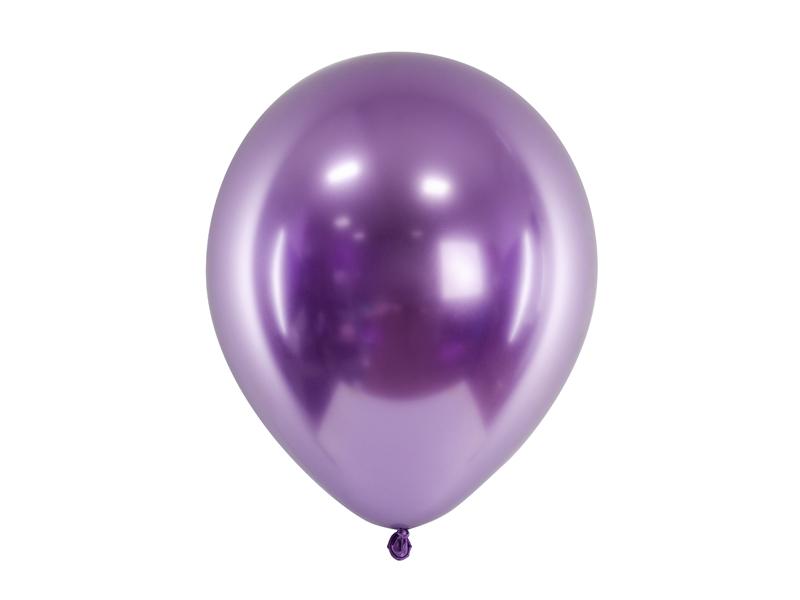 Balão Cromado 27cm - Violeta