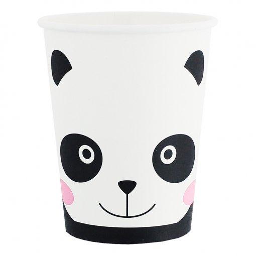 Copos Panda 200ml,pk/6