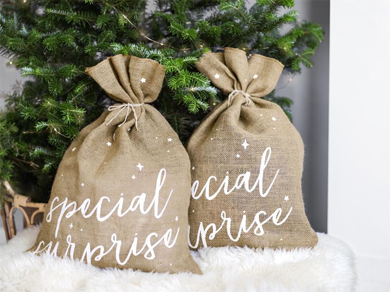 Sacola Holly Christmas 30x42