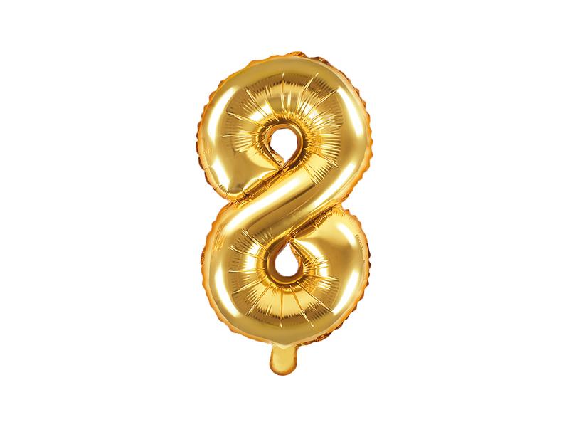 Balão 35cm  8 - Dourado