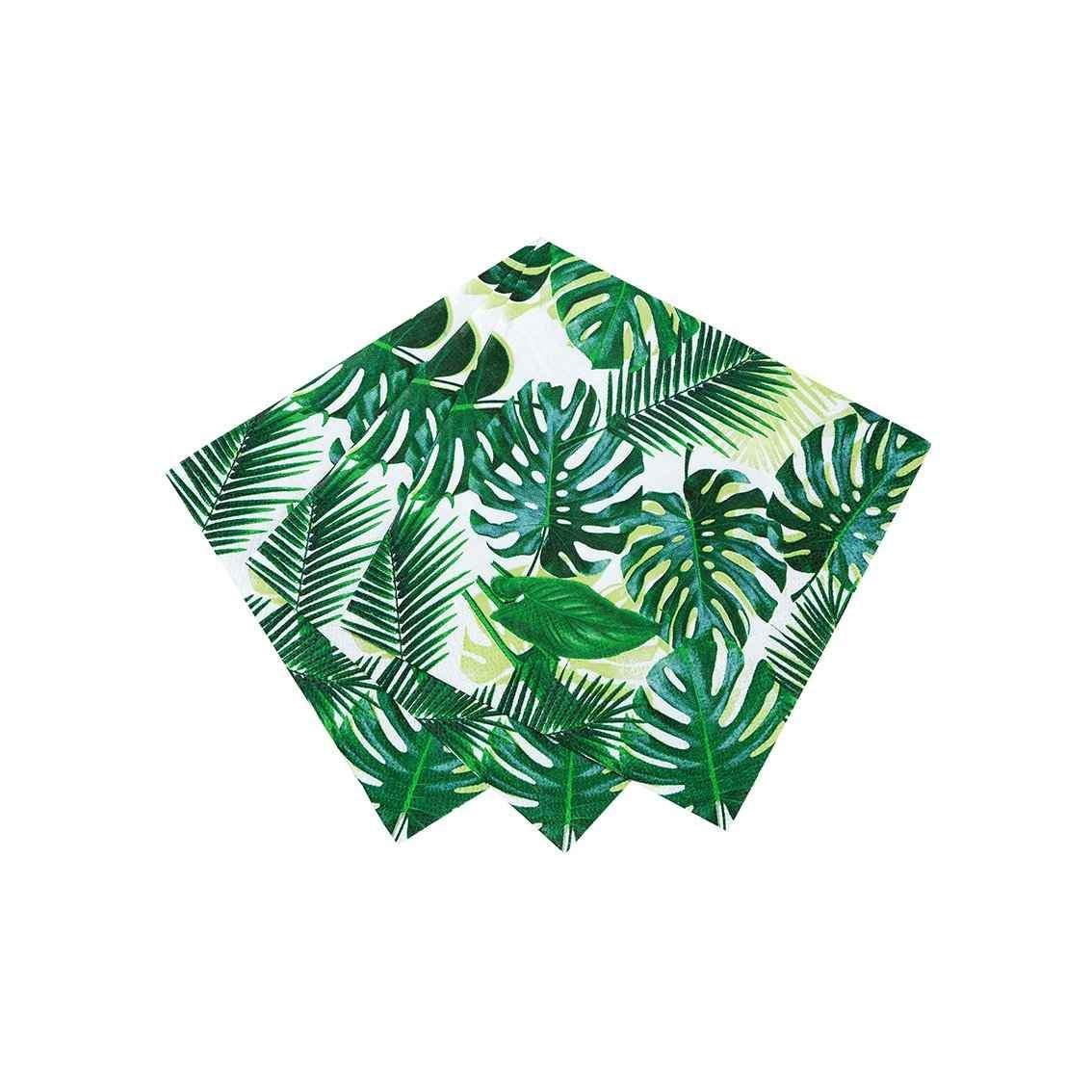 Guardanapos Tropical Fiesta Palm,pk/20