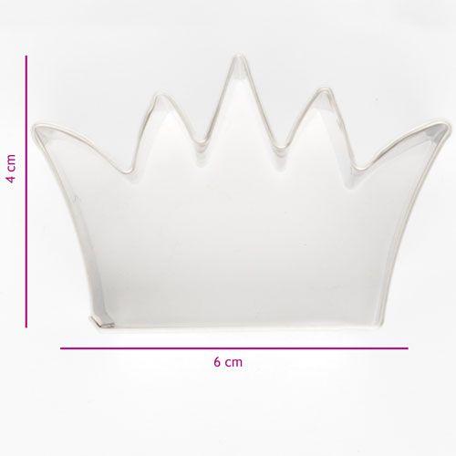 Cortador Coroa, 6cm