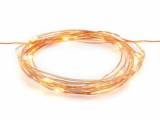 Luzes Decorativas Led copper, 1.90m