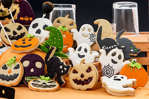 Cortadores Halloween Relevo