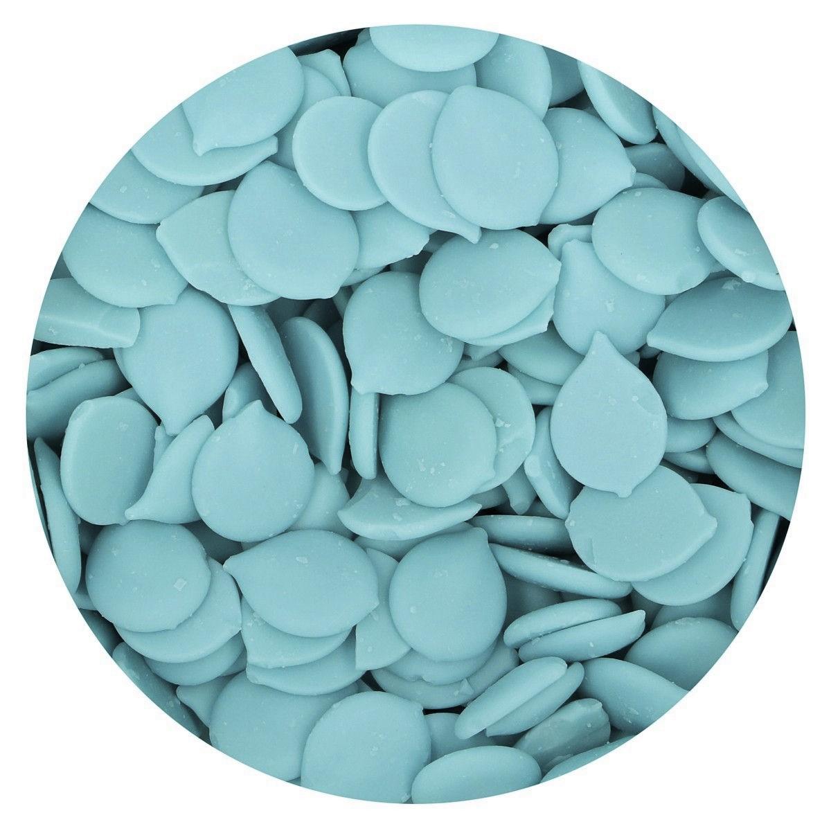 Pastilhas Chocolate Azul Claro,300gr