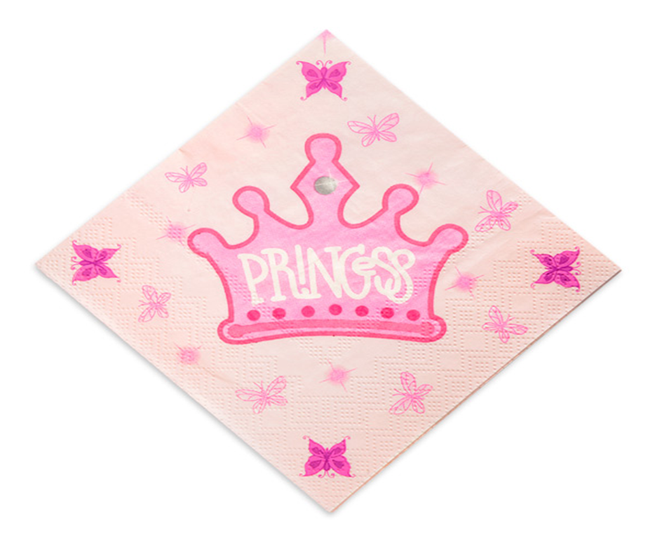 Guardanapos Princesas ,pk/20
