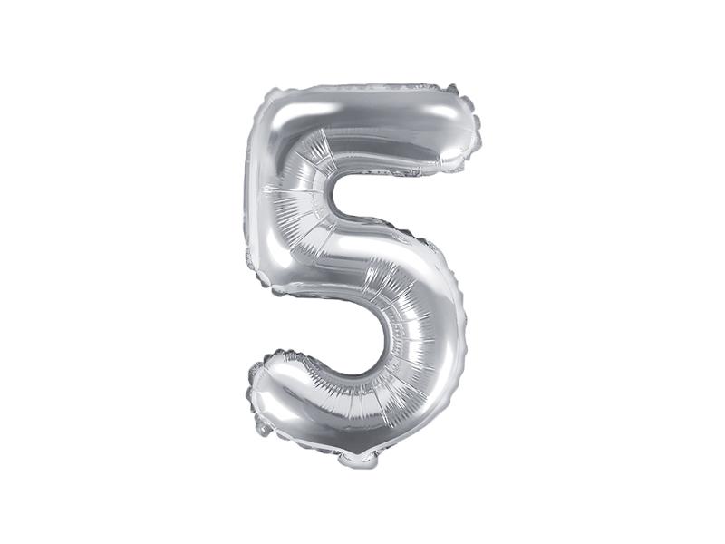 Balão 35cm 5 - Prateado