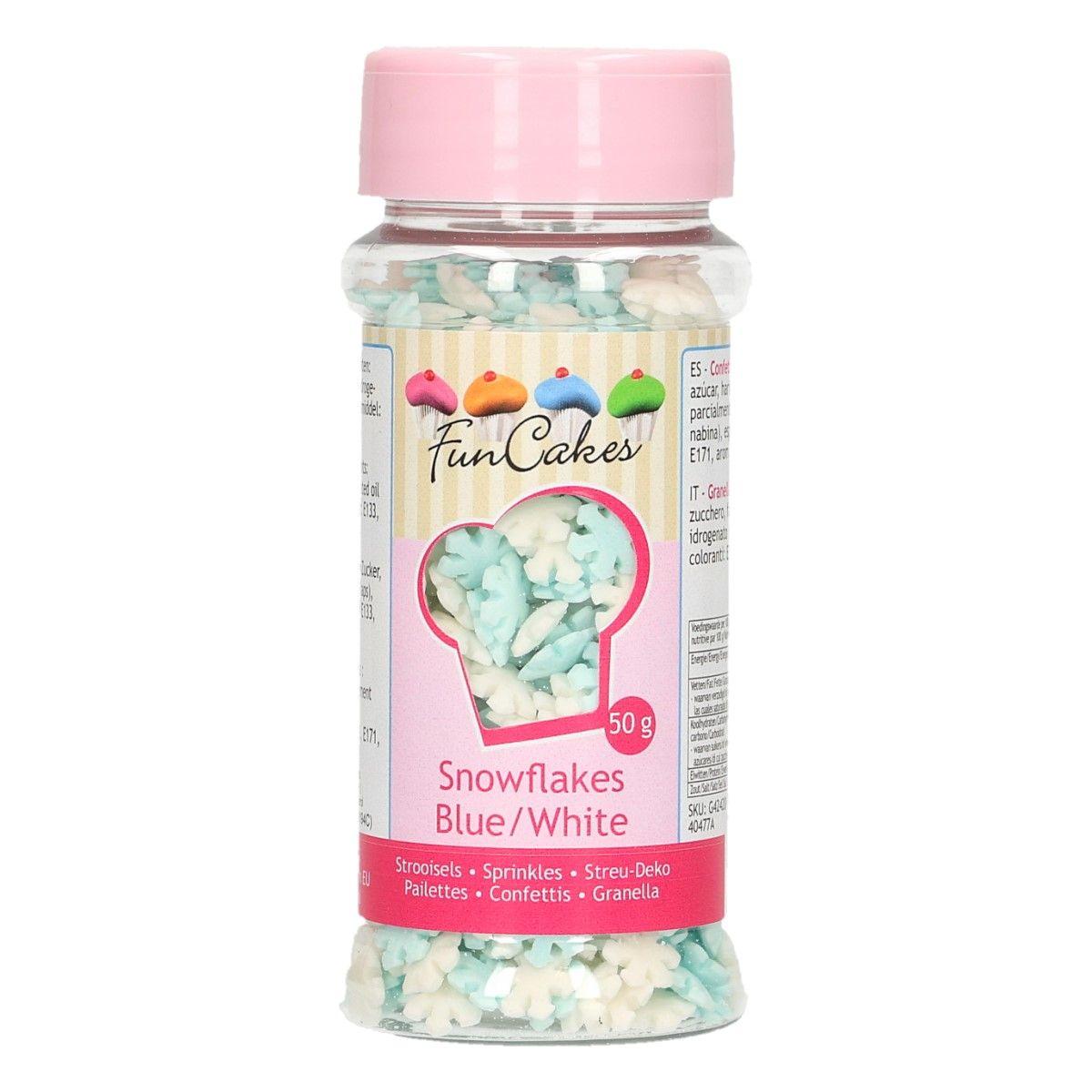 Sprinkles SnowFlakles White/blue